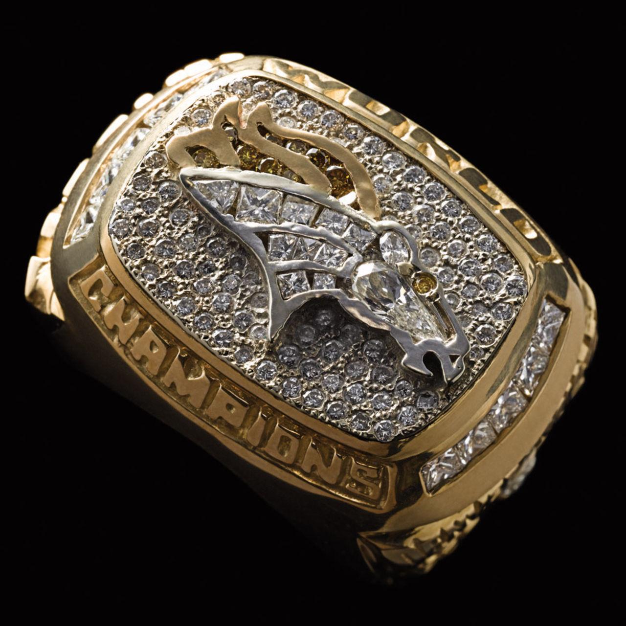 Denver Broncos 1998 champions ring