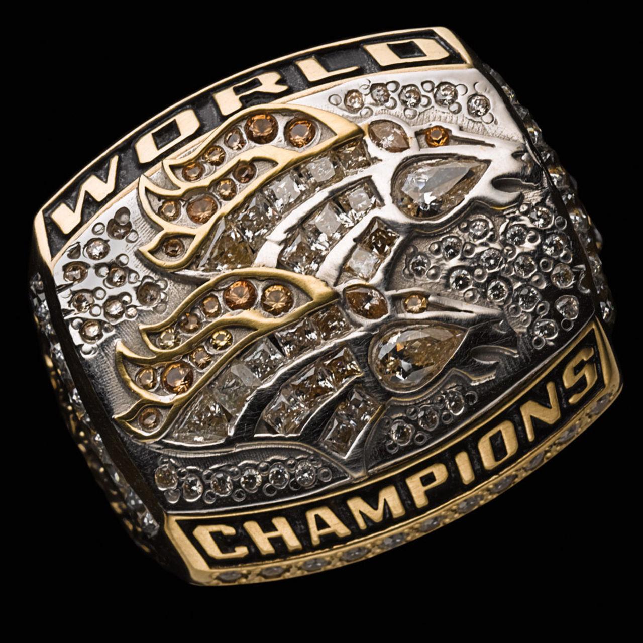Denver Broncos 1999 champions ring