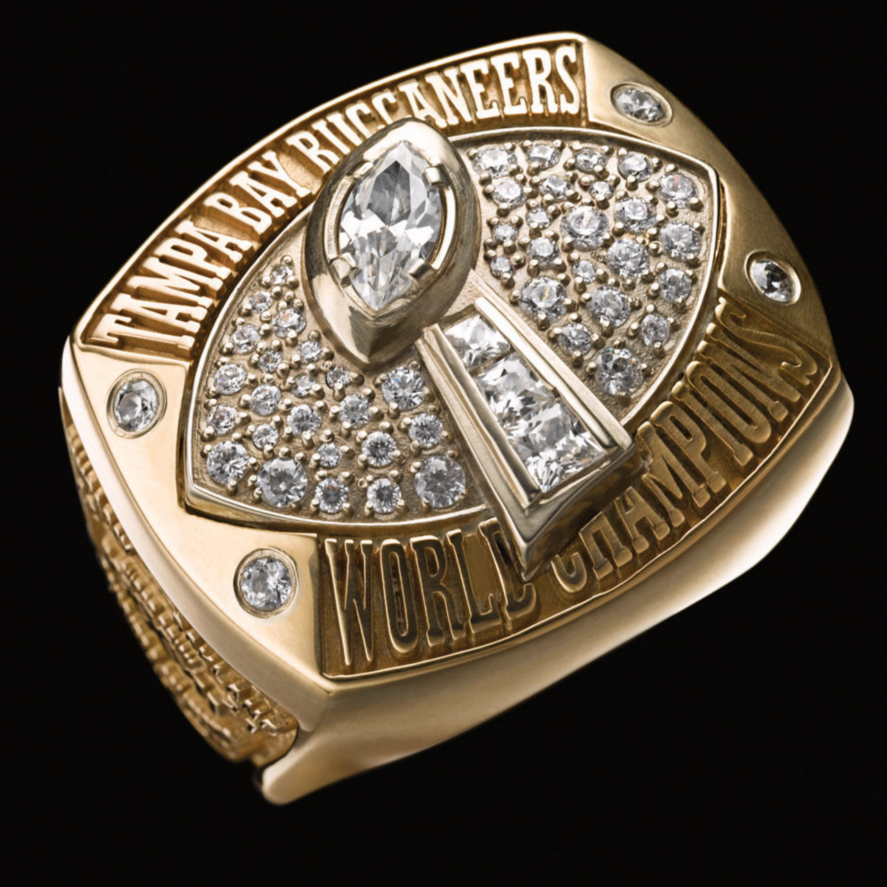 Tampa Bay Buccaneers 2003 champions ring
