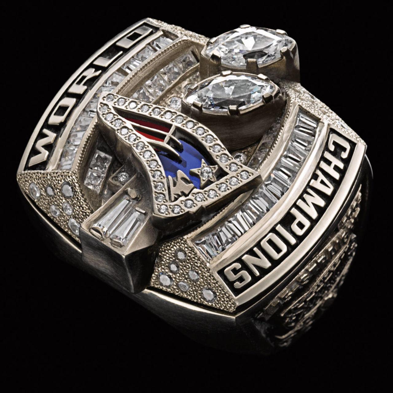New England Patriots 2004 champions ring
