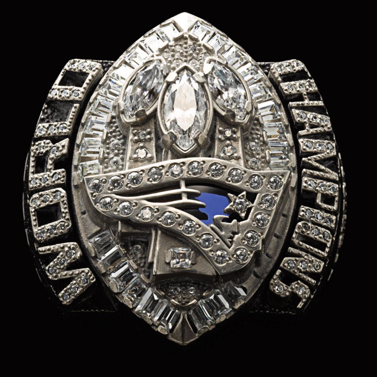 New England Patriots 2005 champions ring