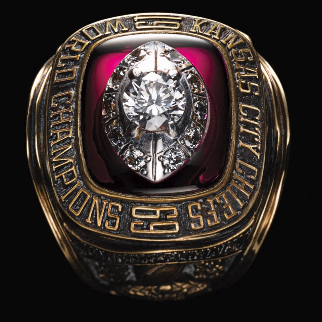 Kansas City Chiefs 1970 champions ring