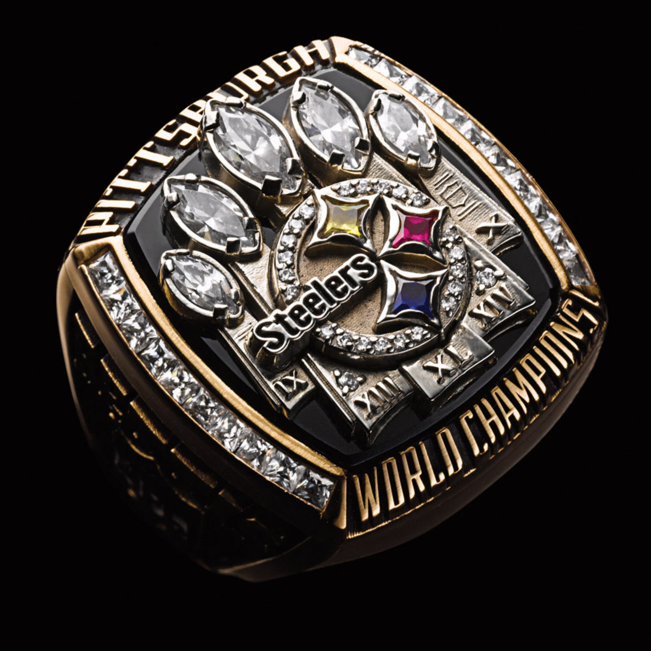 Pittsburgh Steelers 2006 champions ring