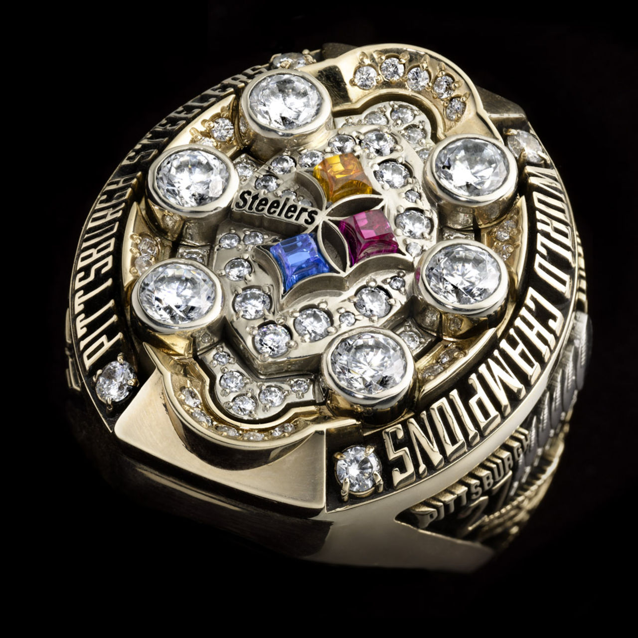 Pittsburgh Steelers 2009 champions ring