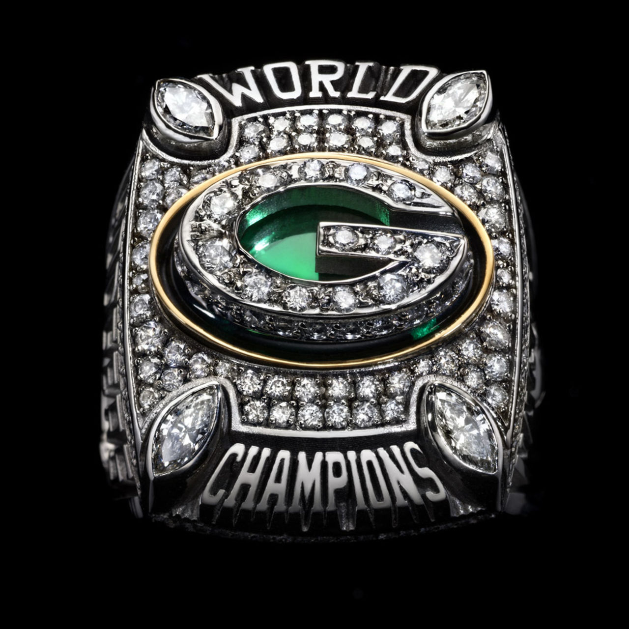 Green Bay Packers 2011 champions ring