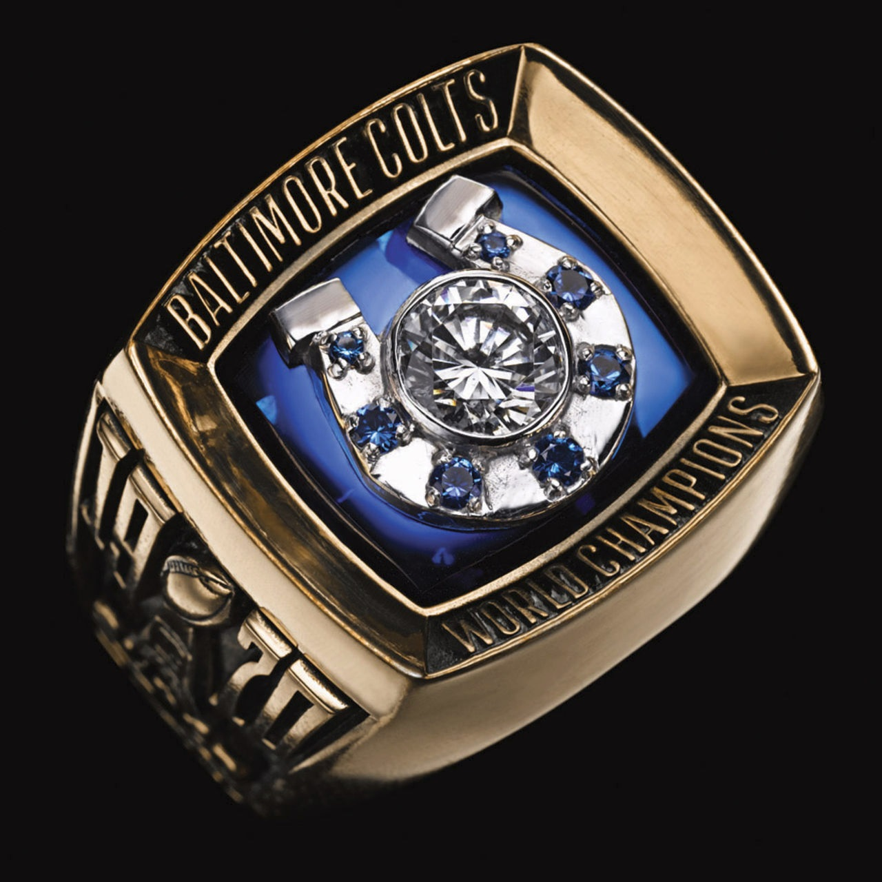 Baltimore Colts 1971 champions ring