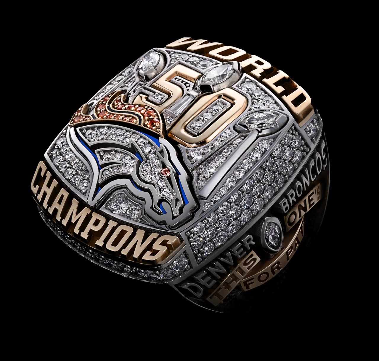 Denver Broncos 2016 champions ring