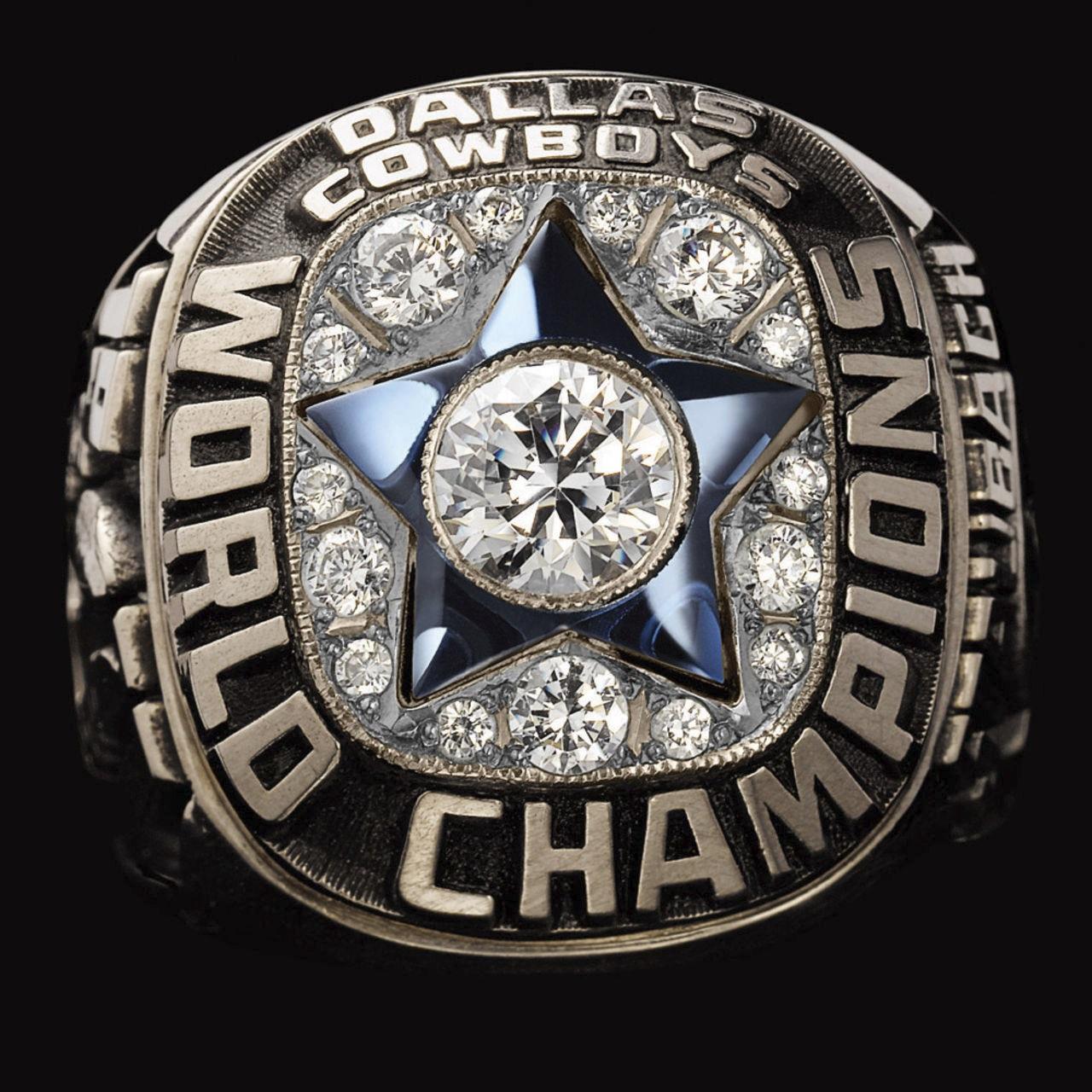 Dallas Cowboys 1972 champions ring