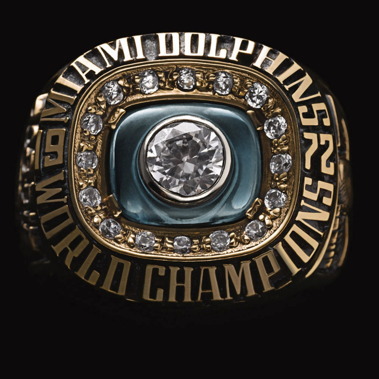 Miami Dolphins 1973 champions ring