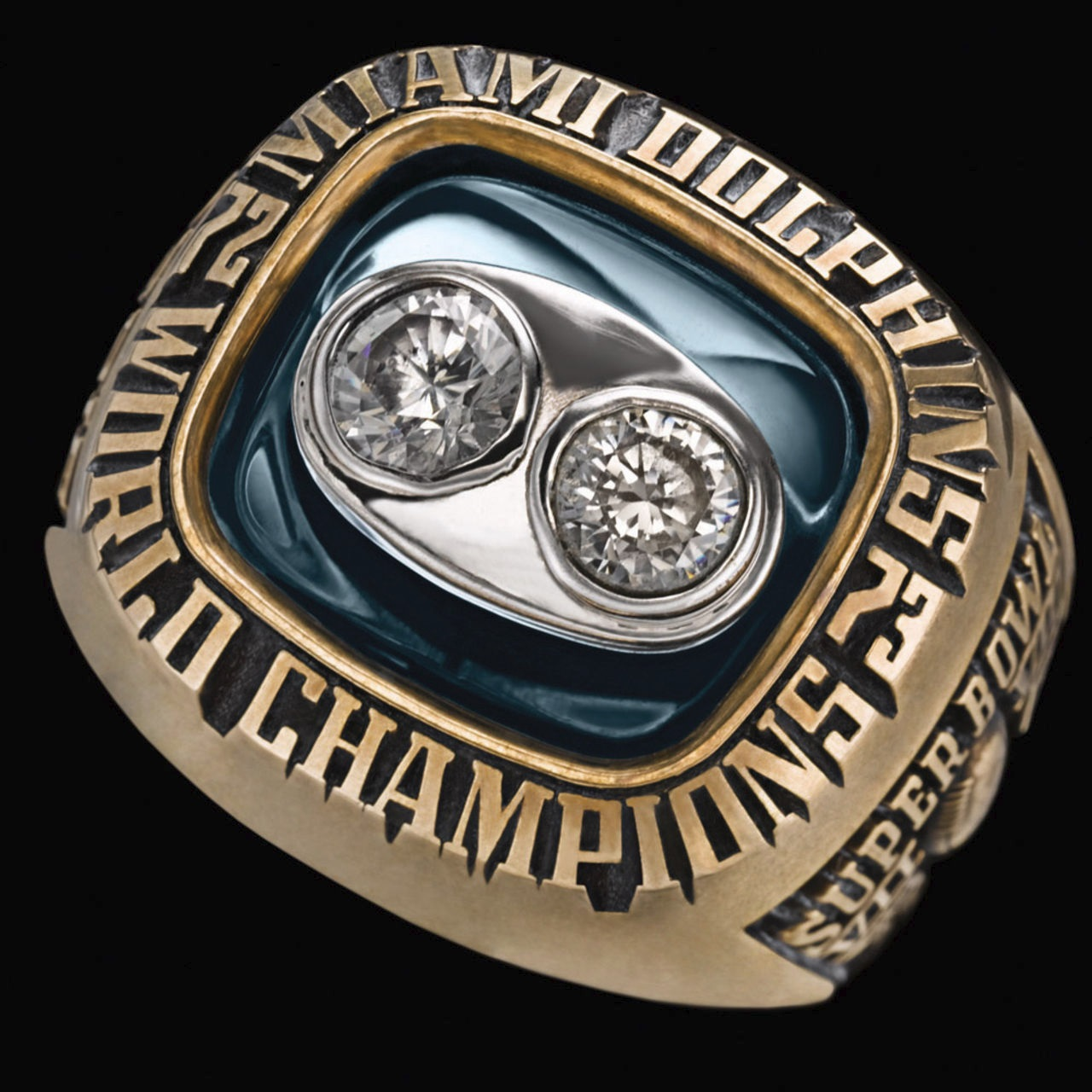Miami Dolphins 1974 champions ring