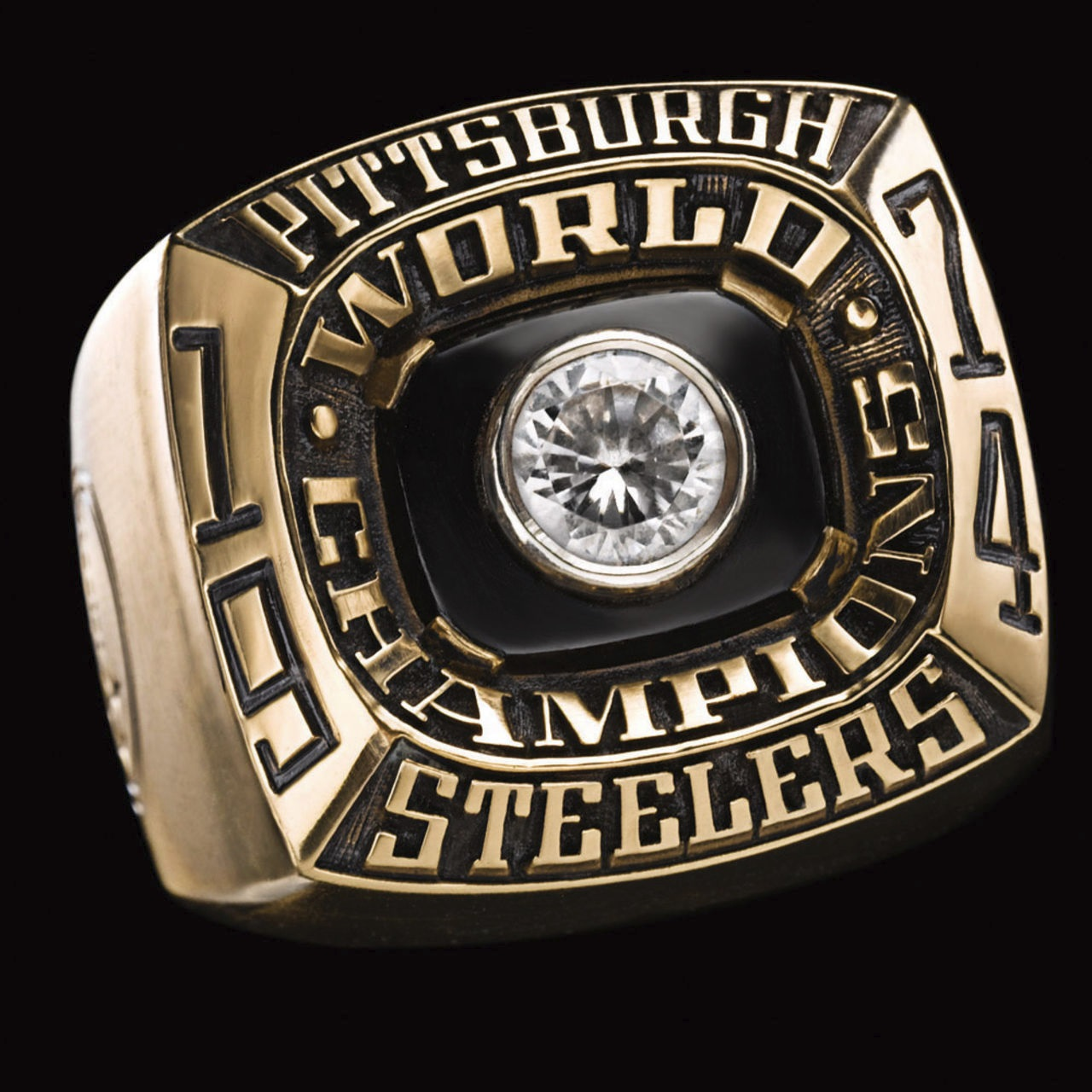 Pittsburgh Steelers 1975 champions ring