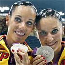 Andrea Fuentes y Ona Carbonell