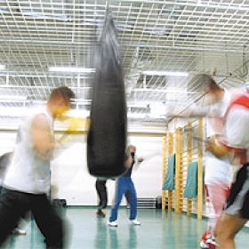La prisión de Teixeiro,  cantera de boxeadores