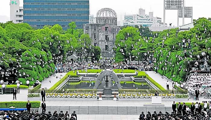 Hiroshima y Nagasaki miran juntas a 2020