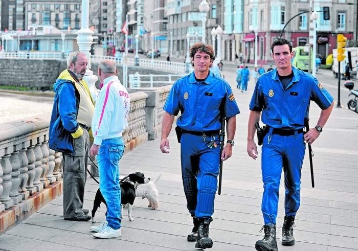 Craviotto y Perucho, dos policías de oro para Gijón