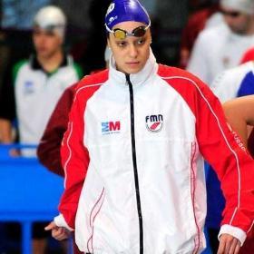 Duane da Rocha, medalla de bronce en los 100 espalda