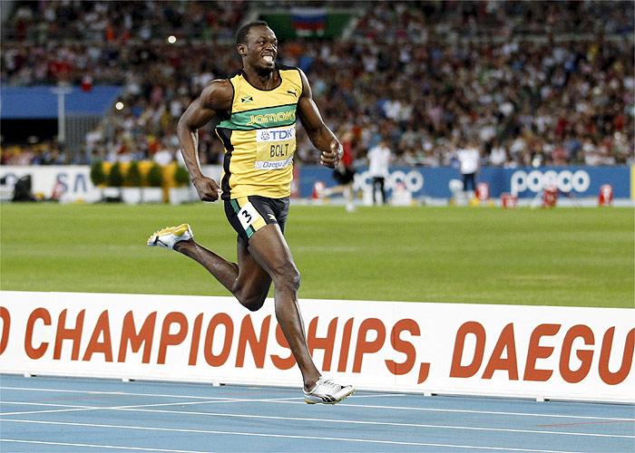 Usain Bolt revalida su título de los 200 metros lisos