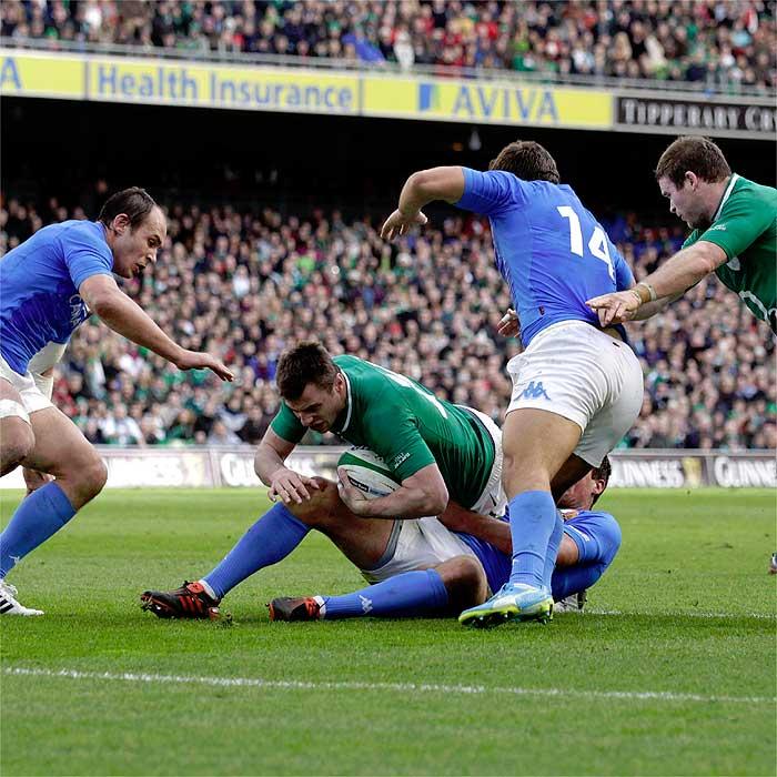 Irlanda abusa de Italia y entierra sus frustraciones
