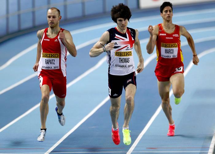 Antonio Reina y Marco, a semifinales de 800 metros