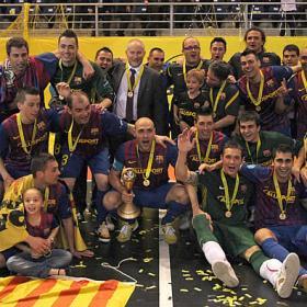 El Barça sí es campeón europeo en fútbol sala