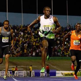 Bolt comienza la temporada en los 100 metros con 9.82