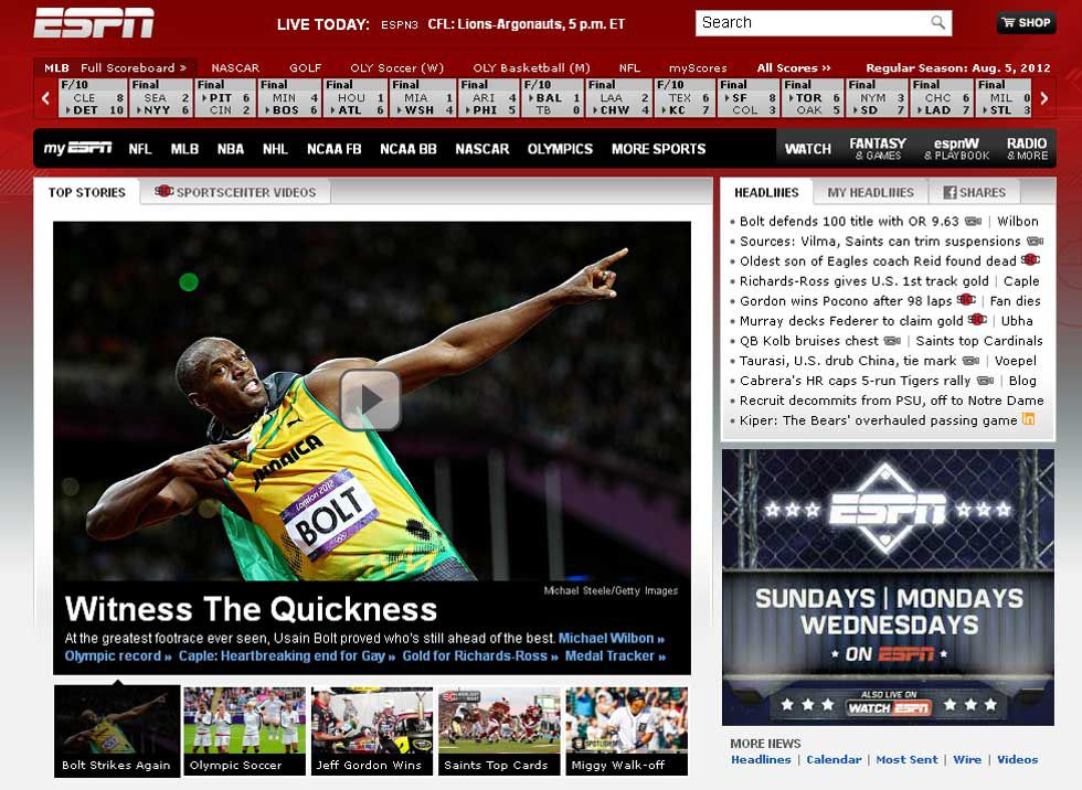 El relámpago Usain Bolt deslumbra a la prensa mundial
