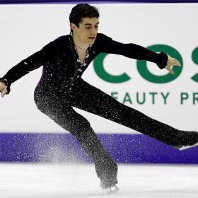 Javier Fernndez, bronce en el Finlandia Trophy 2012