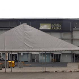 La Policía advierte que el Madrid Arena carece de licencia
