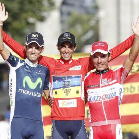 Contador, Valverde y Purito ofrecieron la mejor Vuelta