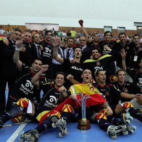 La Selección española, referencia sobre patines