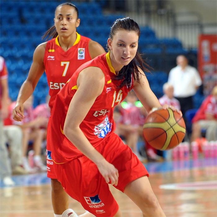 La reina del basket español acumula ya nueve medallas