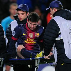 Messi injury less severe than first feared