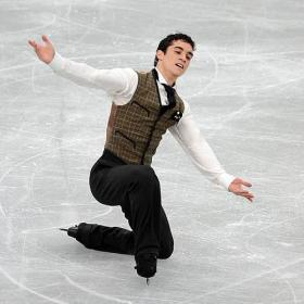 Javier Fernández es quinto en el Programa Corto de Sochi