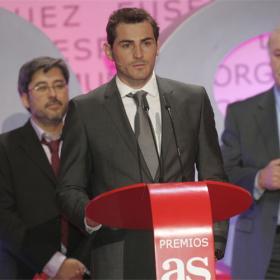 """Casillas: """"Es genial ver que el deporte español sigue arriba"""""""
