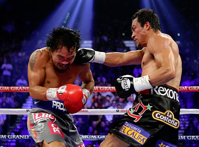 Márquez noquea a Pacquiao con una espectacular derecha