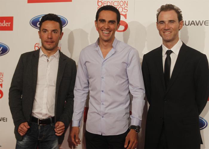 """El podio de la Vuelta: """"Es un premio al ciclismo, no nuestro"""""""