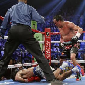 Pacquiao cayó por KO trece años después