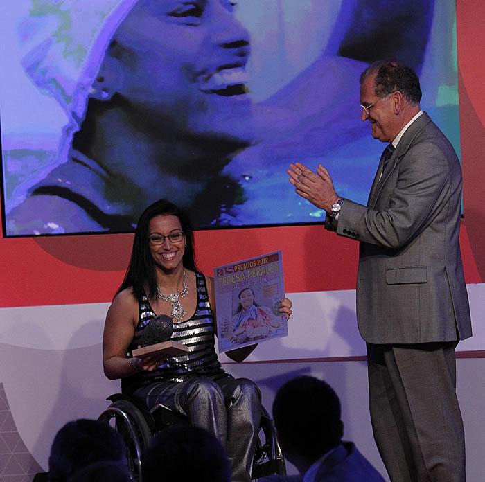 Teresa Perales igualó las 22 medallas de Phelps