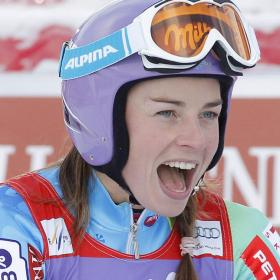 Tina Maze, intratable, gana el Gigante de Courchevel