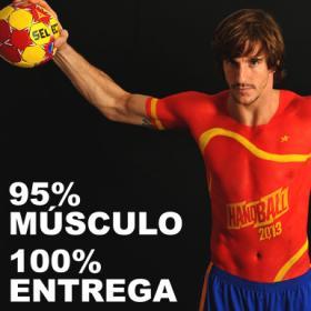 España luce músculo para lanzar su Mundial