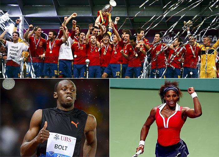 Bolt, Serena y la Selección, los mejores de 2012 para la AIPS