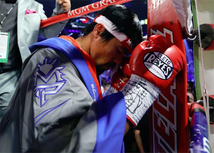 Manny Pacquiao podría tener signos de Parkinson