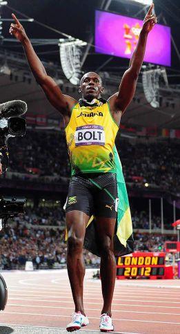 El jamaicano Usain Bolt es el mejor del año para L'Equipe