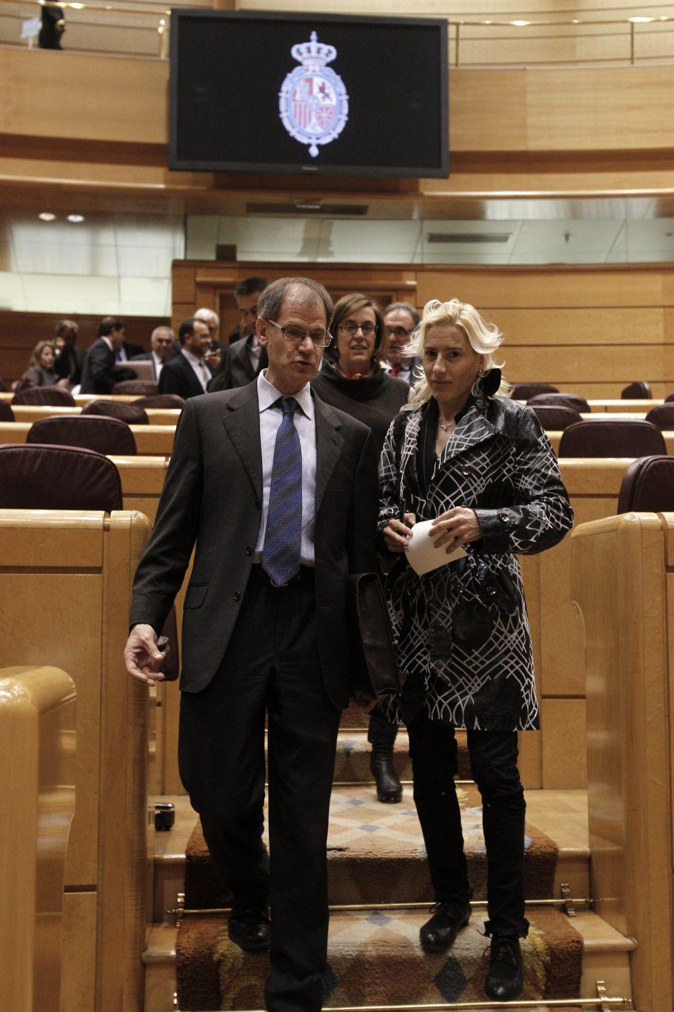 Marta tuvo que pasar un control antidopaje en el Senado