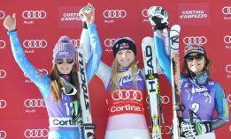 Lindsey Vonn gana el descenso de Cortina d'Ampezzo
