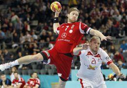 Dinamarca gana a Hungría y reclama la corona de Francia
