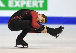 El patinador Javier Fernández, medalla de oro en los Europeos