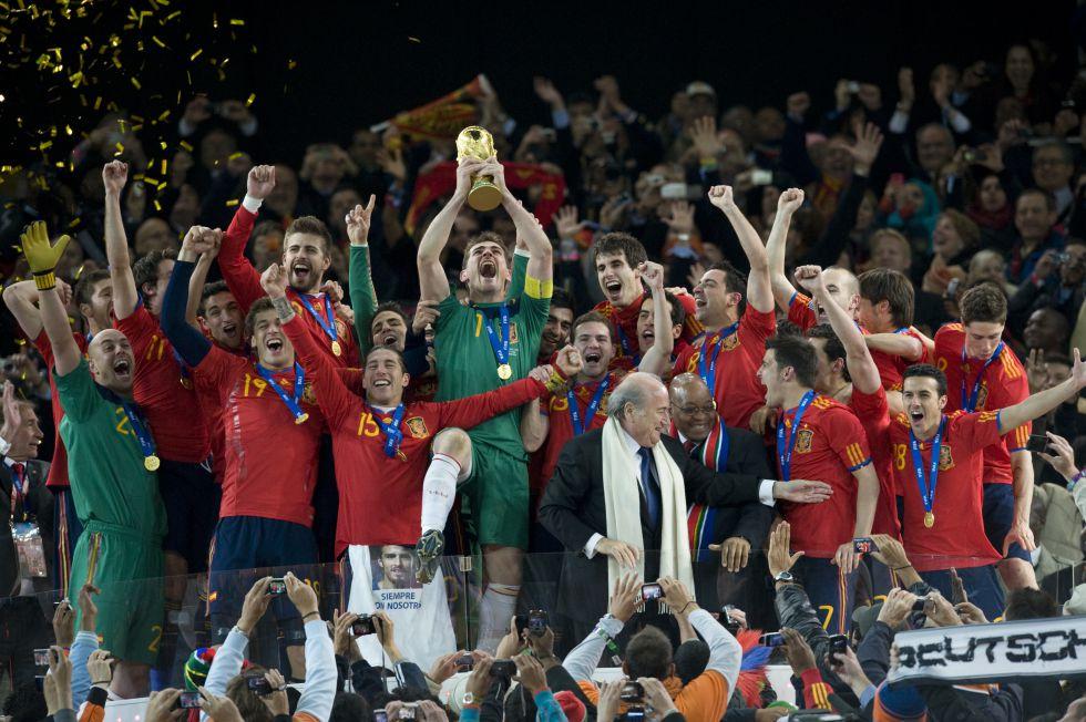 España: Somos reyes del mundo en los deportes de equipo