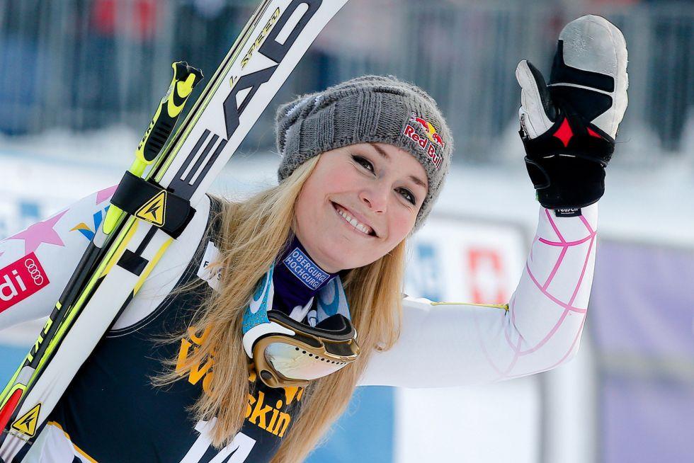 Tiger Woods y la esquiadora Lindsey Vonn se dan citas