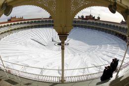 Se desploma la cubierta de Las Ventas, que sería sede olímpica
